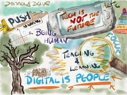 sketch noting at altc e learning stuff