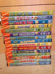 used spongebob square pants dvds in pe4 peterborough for 50 00