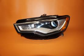 audi a6 headlights audi a6 headlight left driver 2012 2014