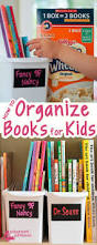 Tidy Books Bookcase White by Best 25 Organize Kids Books Ideas Only On Pinterest Organizing