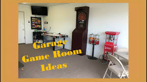 garage game room ideas youtube