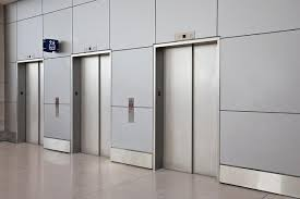 stainless steel elevator doors architectural forms surfaces