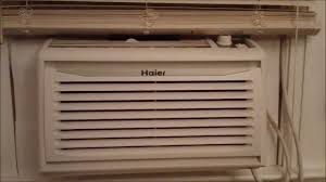 Small Window Ac Units Haier Window Air Conditioner Youtube