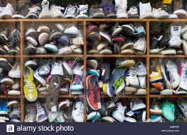 second berlin second shoe shop penzlauer berg berlin germany stock photo