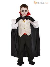 boys vampire costume kids halloween dracula fancy dress