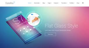 satelitte7 review flat glass style wordpress theme reviews