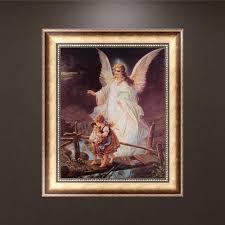 Angel Home Decor Online Get Cheap Guardian Angel Painting Aliexpress Com Alibaba