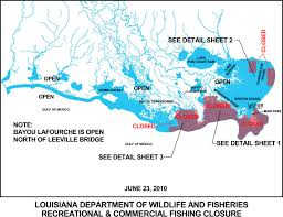 State Of Louisiana Map by Ldwf Announces Fishing Openings In Portions Of Bayou Lafourche And