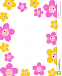 Wallpaper Borders For Kids Floral Border Royalty Free Stock Photography Image 14582917