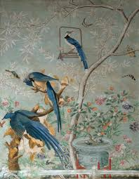 wallpaper with birds the 19th century lady who used audubon s birds for wallpaper