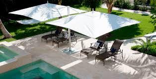Patio Umbrellas Cantilever Patio Umbrella Commercial Fabric Aluminum