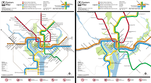 Dc Subway Map by Washington Metro Map To Scale On Behance
