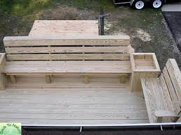 Decks With Benches Built In Decks Montgomery County Pa Pa Decks Deck Photos Pa