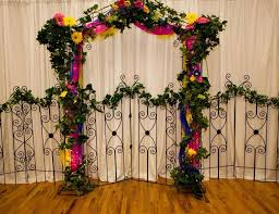 wedding arches decorated with flowers feels wedding with wedding arch home design by