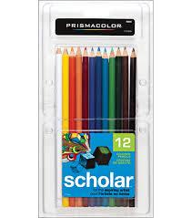 prismacolor pencils prismacolor scholar colored pencil set 12 pk joann