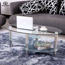 Oval Wood Coffee Table Oval Coffee Table Ebay