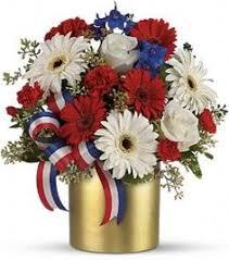Wedding Flowers July Rot Weiß U0026 Blau Bridal Bouquet Rosen Von Songsfromthegarden Auf