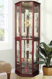 display cabinet with glass doors curio cabinet wood curiobinets with glass doors solid