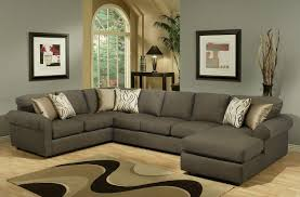 Microfiber Sectional Couch With Chaise Living Room Comfortable Double Chaise Sectional For Excellent