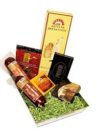 Meat And Cheese Gift Baskets Summer Sausage And Wisconsin Cheese Gift Baskets Tray With