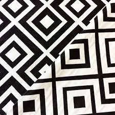 black and white home decor fabric home decorating interior