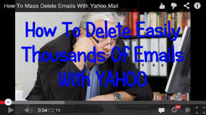 Yahoo Business Email Problems by How To Mass Delete Emails With Yahoo Mail Youtube