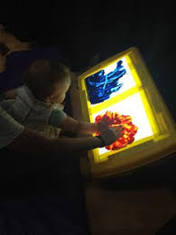 lighting for visually impaired 50 ideas for using a light box with a visually impaired child