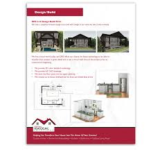 design remodeling solutions sales brochure tweed marketing
