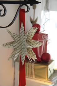 how to make christmas decorations paper stars