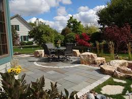 garden decor impressive garden decoration ideas using bluestone