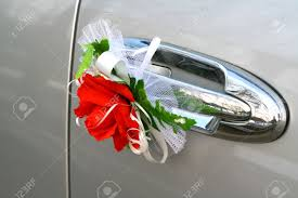 wedding car decorations wedding car decoration stock photo picture and royalty