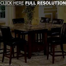 Granite Top Dining Room Table Furniture Delightful Granite Top Dining Table Cream Finish Bases