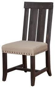 Dining Chairs Wood Wonderful Sparrow Wooden Dining Chairs Set Of 2 Contemporary