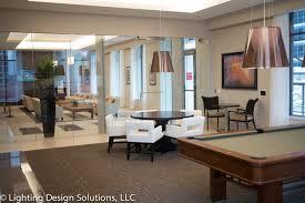 residential lighting design multi family residential clubhouse houston by lighting design