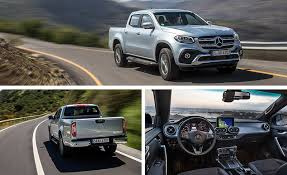 Mercedes Pick Up | 2018 mercedes benz x class pickup first drive review car and driver