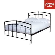 silentnight carrington black metal bed frame double kingsize