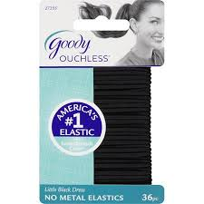 goody s hair buy goody ouchless hair elastics 17 pc black 2 packs in cheap