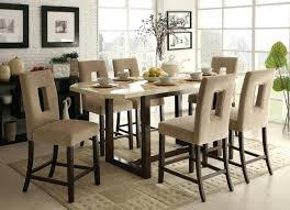 tall kitchen table and chairs high kitchen table set dining room extendable table dining height