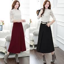 Wool Skirts For Winter Online Get Cheap Winter Skrit Aliexpress Com Alibaba Group