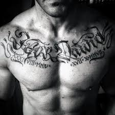 name tattoos on chest 60 name tattoos for lettering design