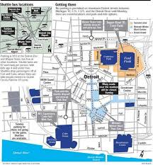 cobo hall floor plan detroit is putting on its game face as super bowl xl draws near