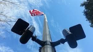 solar led flagpole light polepal solar led flagpole swaggadget com