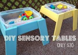 how to build a sensory table diy sensory tables one for bonus room one for outside christmas