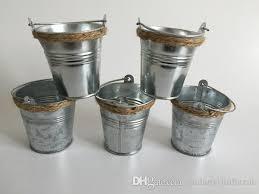 Cheap Small Flower Pots - wholesale d7 h7cm iron flower pots metal pails for small plant