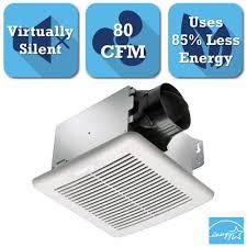 Bathroom Vent Fan Motor Home Depot by Delta Breez Greenbuilder Series 80 Cfm Ceiling Exhaust Bath Fan