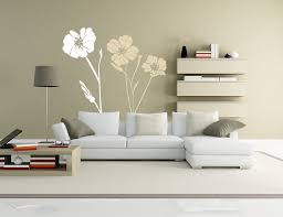 home interiors wall decor charming flower vinyl wall decor for minimalist designs interiors