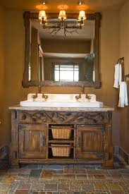 59 best rustic bathroom mirrors images on pinterest rustic