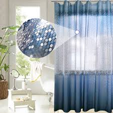 Circles Shower Curtain Ufriday Luxury Peva Shower Curtain Bling 3d Circles Gradient Blue