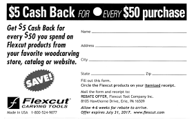 get 5 cashback on purchase flexcut 5 back offer for every 50 purchased national