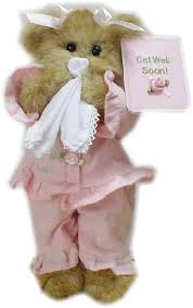 feel better bears get well teddy bears